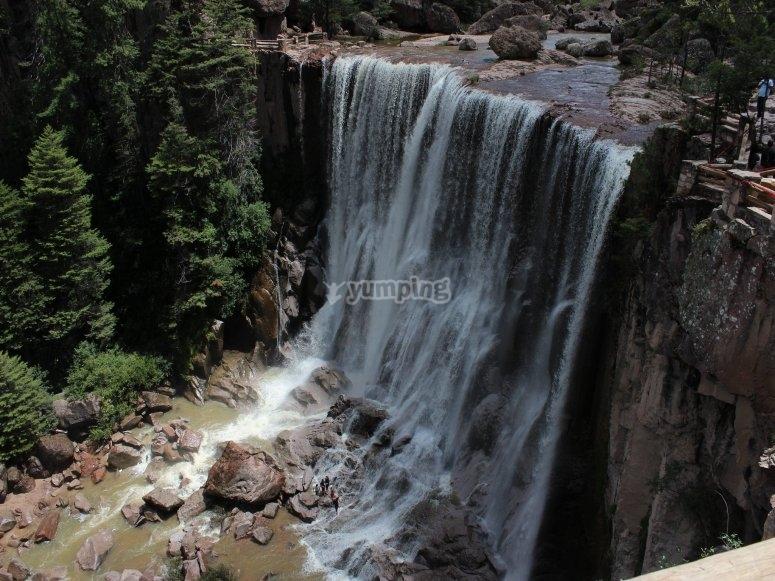 Waterfalls in Chihuahua