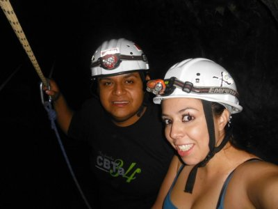 Adventure day at Xoxafi + rappel +zip wire