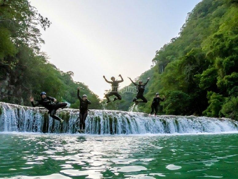 Cañonismo un salto al agua
