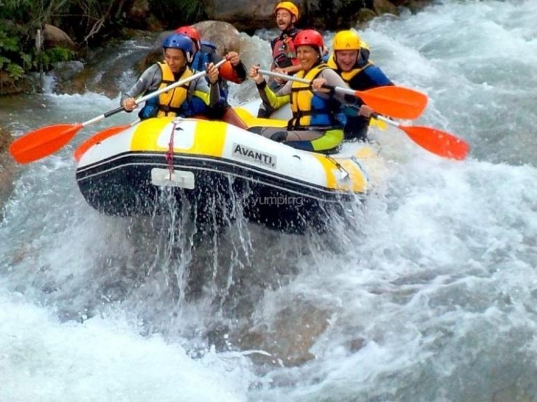 Rafting en rio