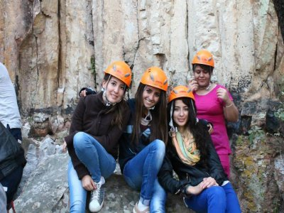 Adventure excursion in Tolantongo caves