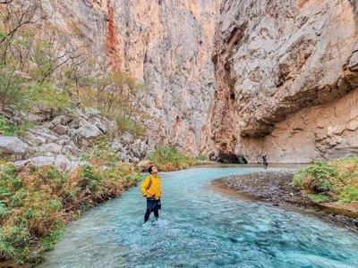 Tour a grutas termales Xajha en Hidalgo por 1 día