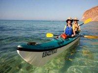 Kayak en la bahia