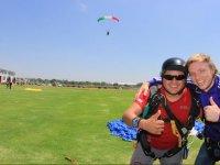 parachuting fun