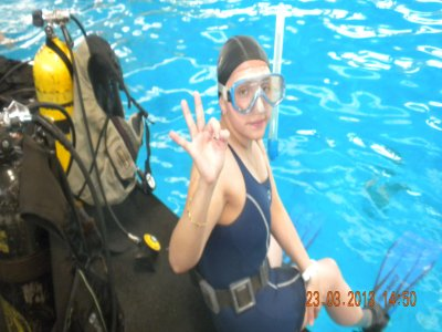 2h introductory diving course