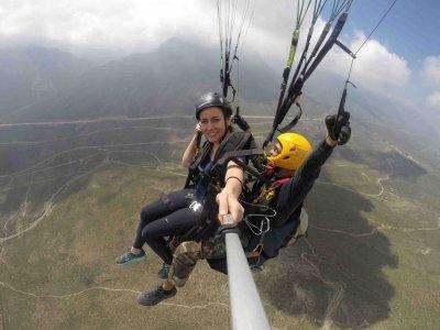 Vuelo en parapente Monterrey Cerro de la Rinconada