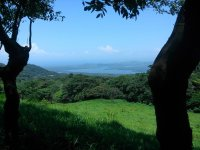 View of the catemaco lake