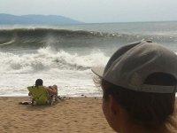 disfruta de las olas