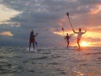 puestas de sol en el mar