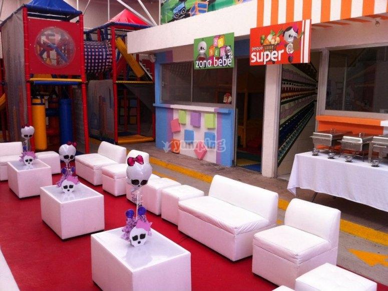 Sala de fiestas infantiles