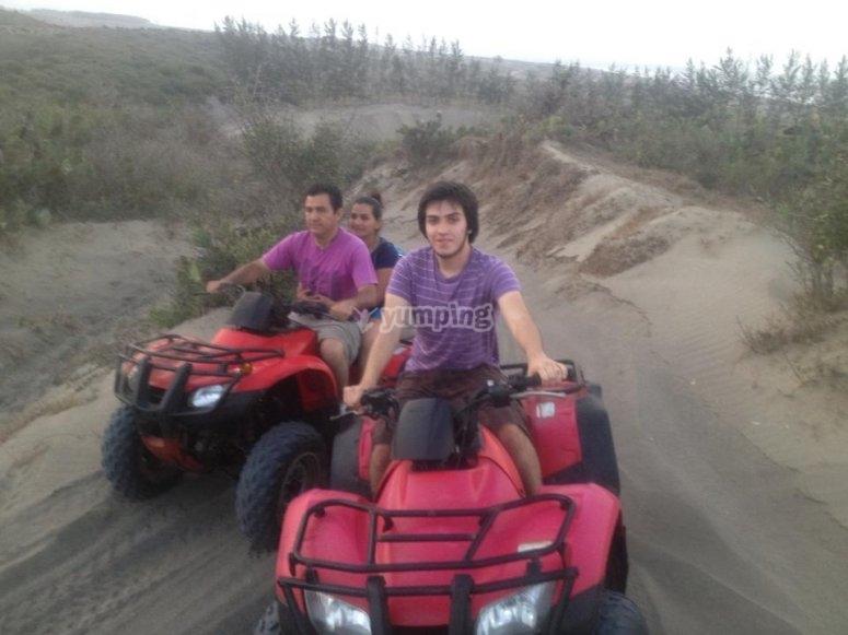 Quads ride