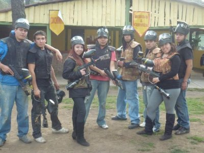 Birthday person paintball package for 20 people