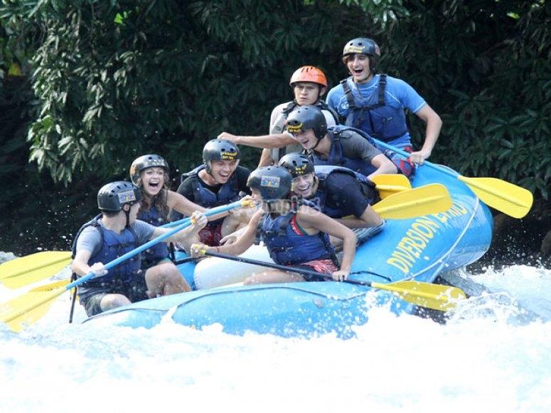 Rafting en Rio Actopan