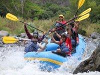 Descenso de rafting en Río Actopan