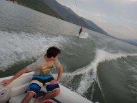 wakeboard en la presa