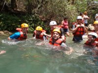 In the river of morelos