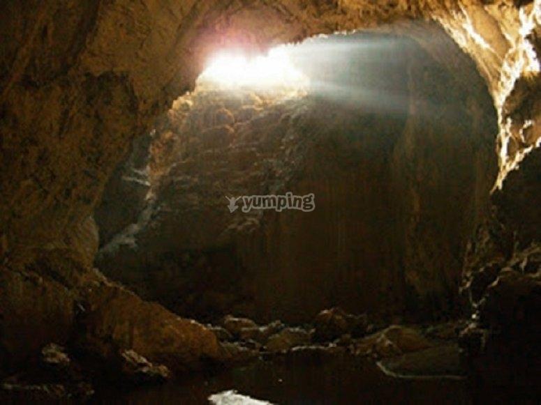 rio chonta subterraneo