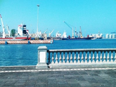 Sun route in Veracruz: Malecon and activity