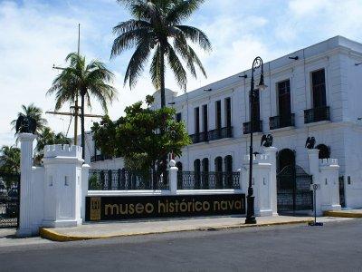 Urban route through Veracruz