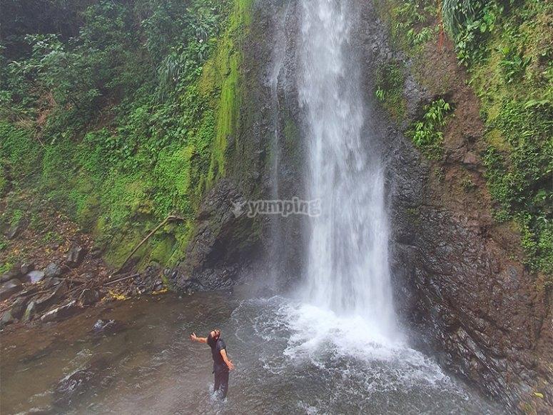 Enjoy the Tucán waterfall in Veracruz