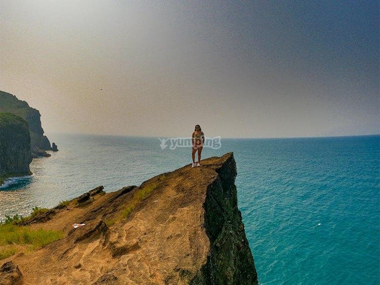 Toma increíbles fotos del paisaje de Roca Partida