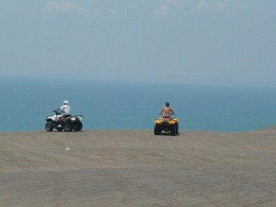 Chachalacas beach route