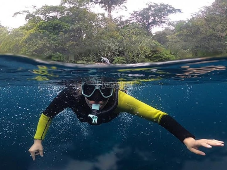 You will have the necessary equipment to do Snorkeling