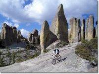 Ciclismo en la barranca