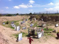 Paintball match in Celaya