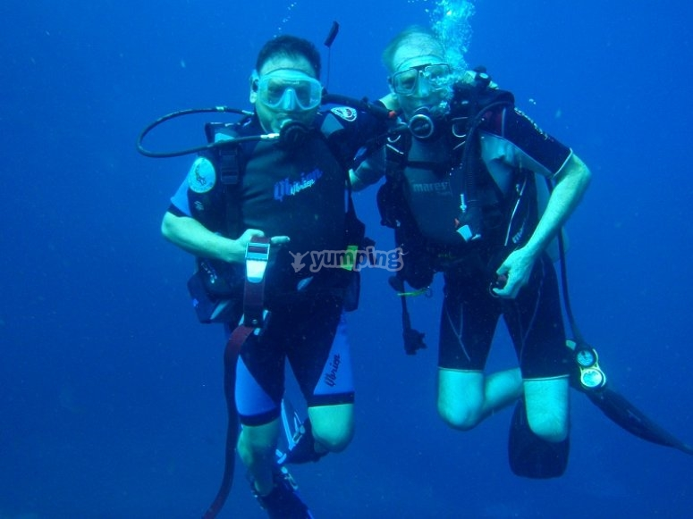 Ready divers