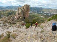 Abseiling & climbing in Comanja de Corona + lunch