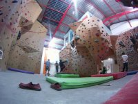 One afternoon climbing