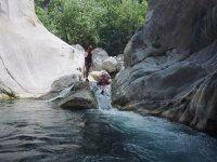 Descenso de barrancos en Monterrey