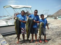 4h fishing excursion in Baja California Sur