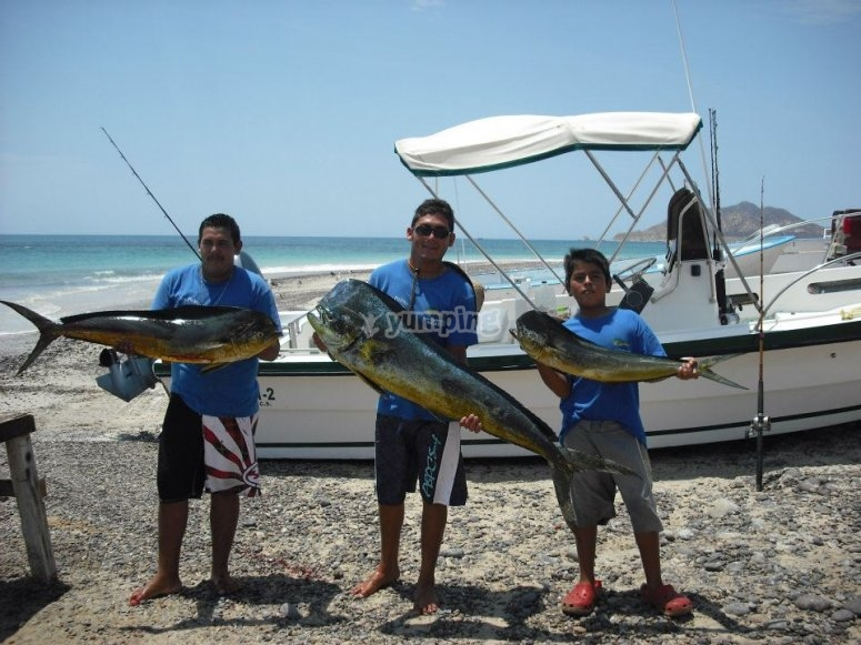 Recreational fishing in Los Cabos
