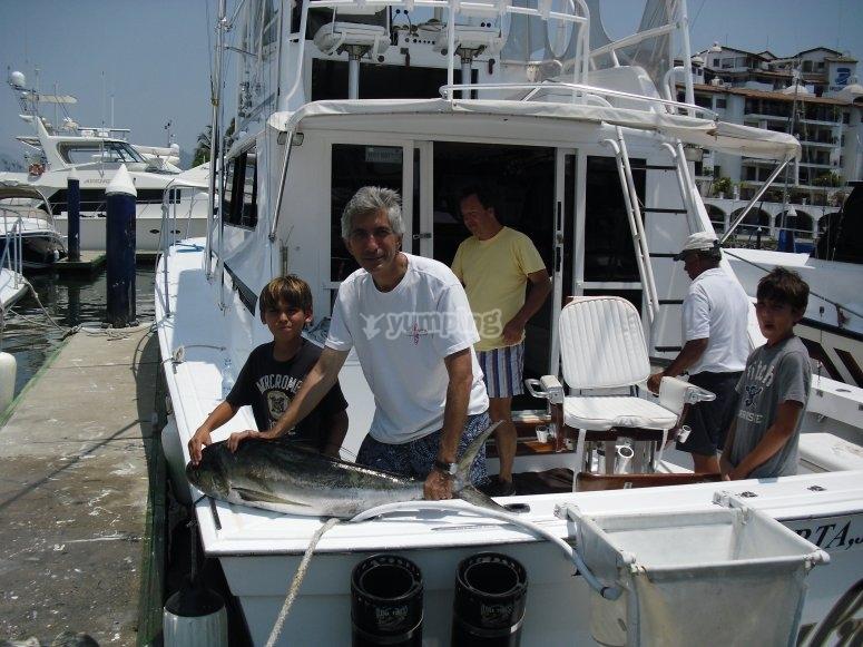 Pescando en Vallarta