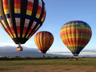 Hot air balloon ride for 3, San Miguel de Allende