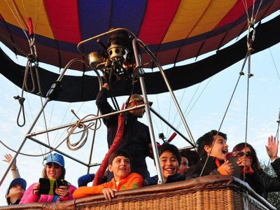 Balloon flight for kids San Miguel Allende