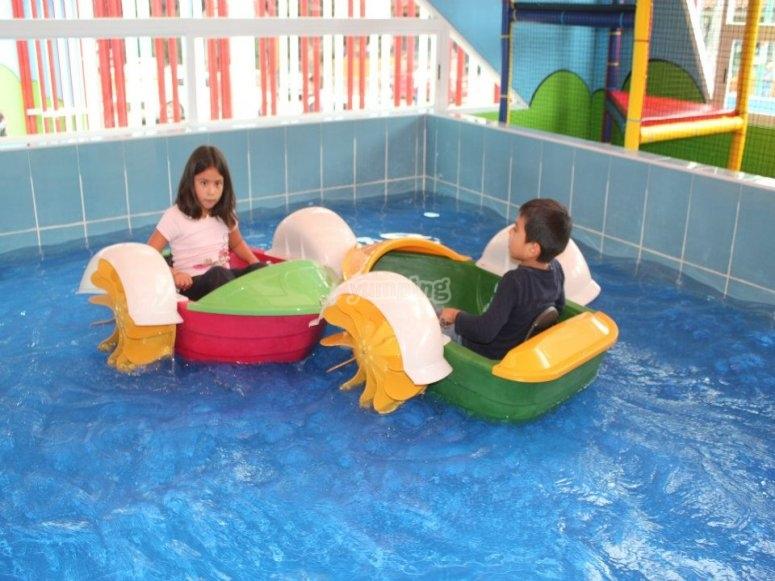 Speedboat area