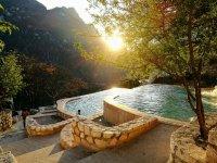 Hot springs tour in Grutas de Tolantongo