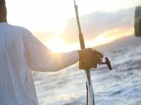 Señor en pesca