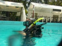 Practise and classes for Open Water certification