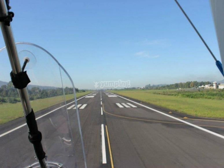 Ultalighht flights