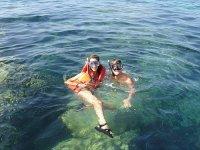 Snorkeling en la baja