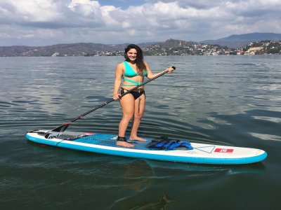 Stand Up Paddle Surf Class in Valle Bravo 90 min