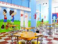 Amplio espacio para eventos infantiles