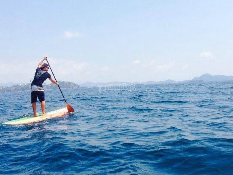SUP in Manzanillo