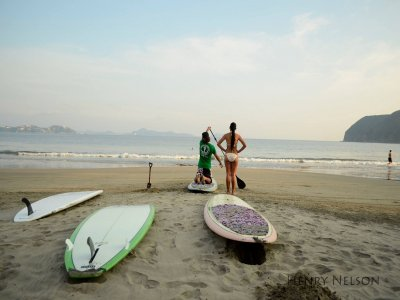 3 intensive days of SUP course, Manzanillo