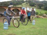 Juegos con la bici