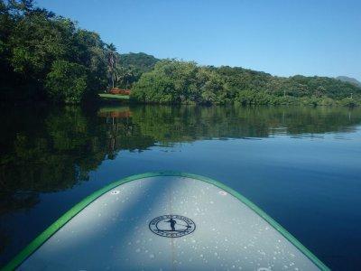 SUP tour in Juluapan lagoon